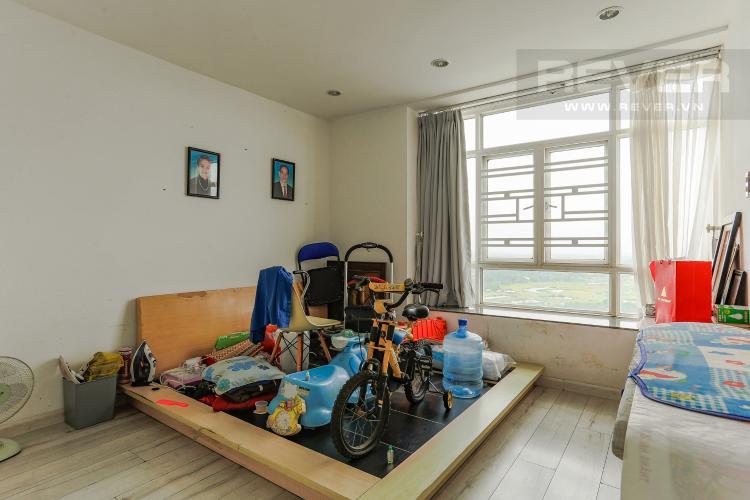 Phòng Ngủ 2 Căn hộ Duplex New Sài Gòn tầng cao tháp D1, 4 phòng ngủ, full nội thất