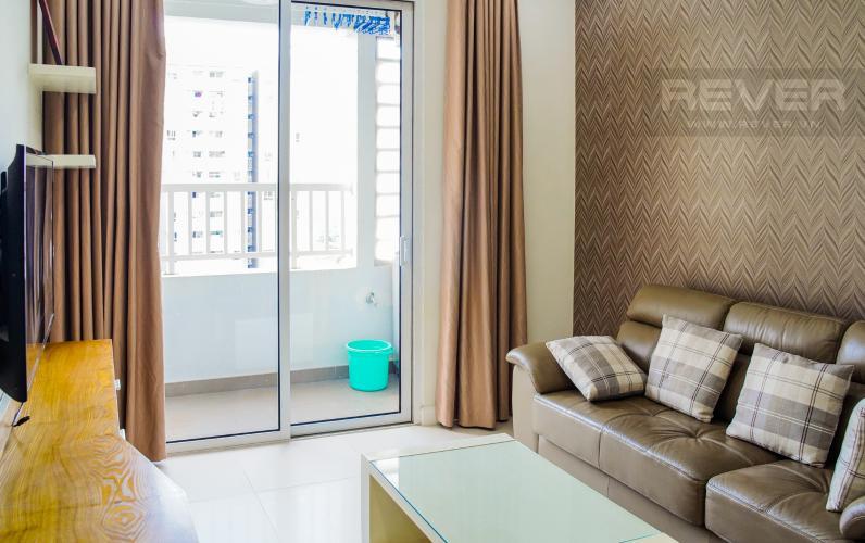Phòng Khách Cho thuê căn hộ Lexington Residence 2PN, tháp LA, đầy đủ nội thất, view đại lộ Mai Chí Thọ