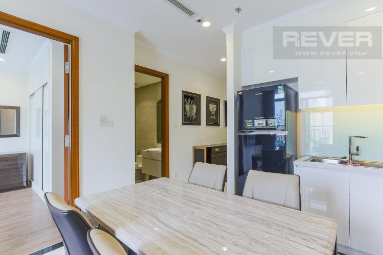 Phòng Bếp Bán căn hộ Officetel Vinhomes Central Park 2 phòng ngủ tầng thấp tháp Landmark 3, đầy đủ nội thất cao cấp