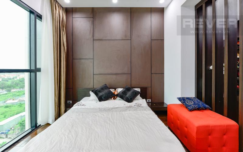Phòng ngủ 1 Căn hộ The Ascent 2 phòng ngủ tầng thấp hướng Bắc tháp B