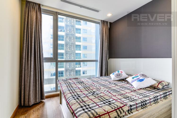 Phòng Ngủ 2 Căn hộ Vinhomes Central Park 2 phòng ngủ tầng cao P6 đầy đủ tiện nghi