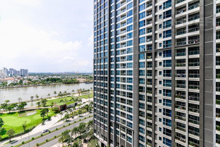View Căn hộ Vinhomes Central Park 2 phòng ngủ tầng cao P2 nội thất đầy đủ