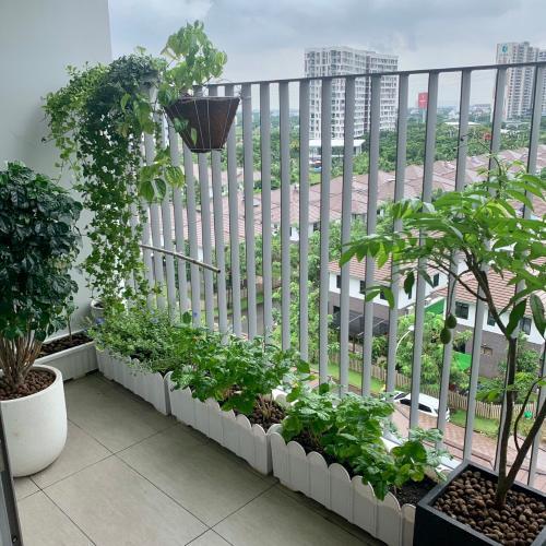 Ban công căn hộ Hausneo Căn hộ chung cư HausNeo quận 9 - nội thất đầy đủ