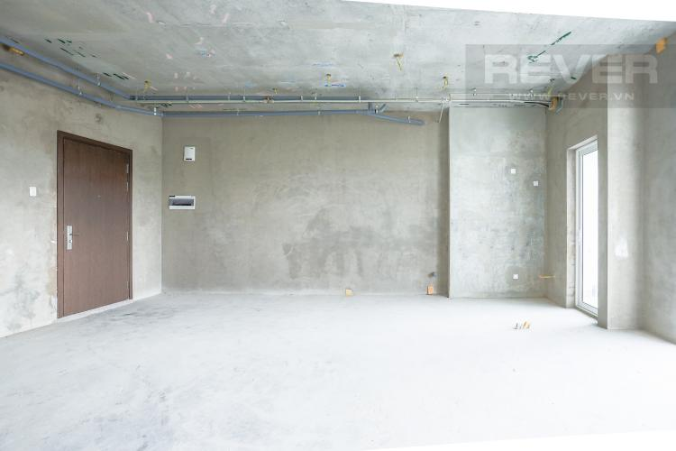 Không Gian Phòng Khách Bán căn hộ Sunrise Riverside tầng thấp, 3PN, diện tích rộng rãi
