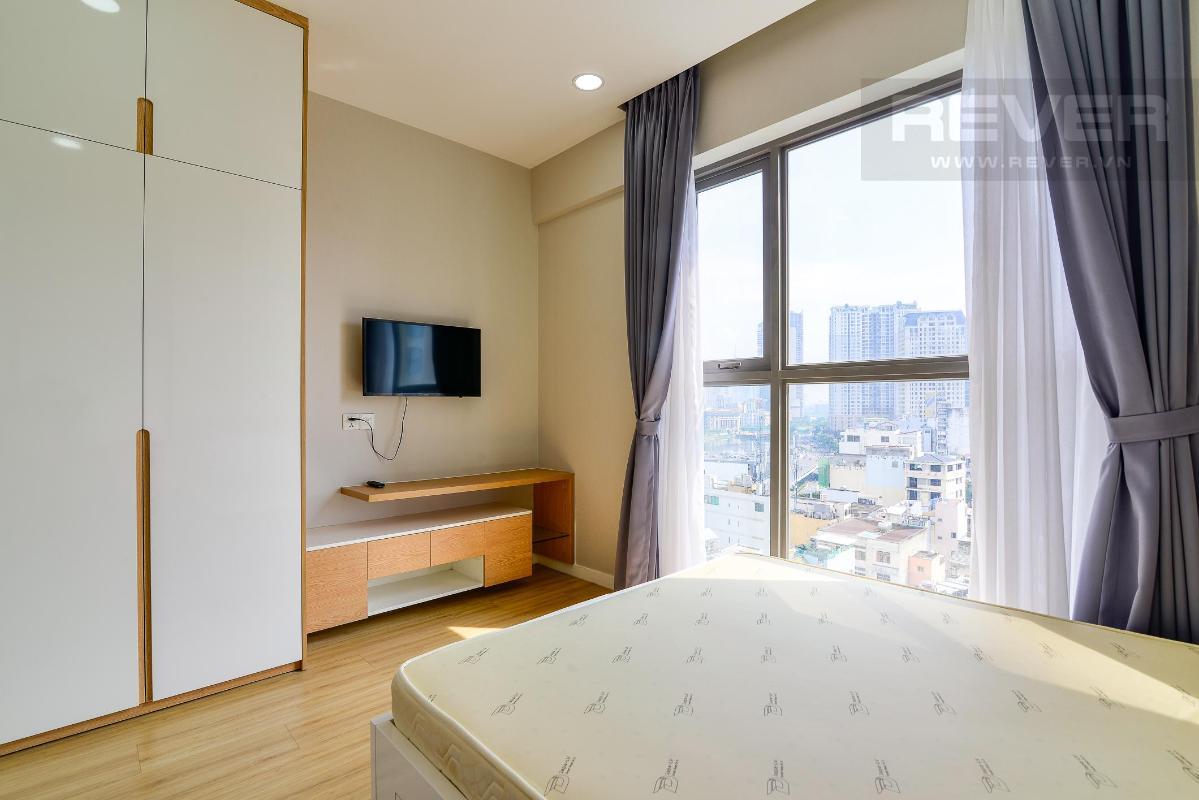 4f135aad42dda483fdcc Cho thuê căn hộ Masteri Millennium 2PN, block A, diện tích 65m2, đầy đủ nội thất, view hồ bơi mát mẻ