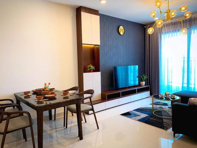 Phòng bếp căn hộ Saigon Royal Căn hộ Saigon Royal tầng cao thiết kế sang trọng view hướng ra sông.