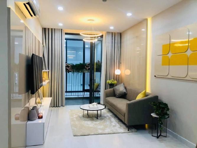 Phòng khách căn hộ Ricca Bán căn hộ Ricca thuộc tầng trung, diện tích 68m2, 2 phòng ngủ, hướng ban công Tây Nam,