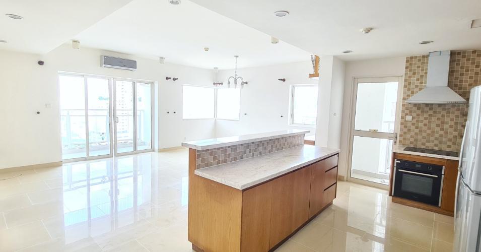 Bán căn hộ số 3 tầng cao dự án River Garden, nội thất cơ bản