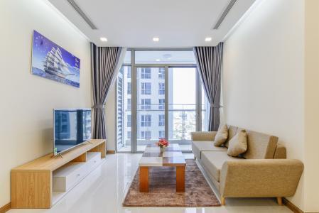 Căn hộ Vinhomes Central Park 2 phòng ngủ tầng cao P7 view nội khu