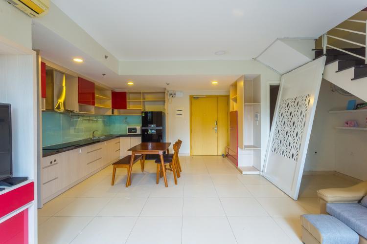 Tổng Quan Cho thuê căn duplex Masteri Thảo Điền 2PN, view hồ bơi, đầy đủ nội thất