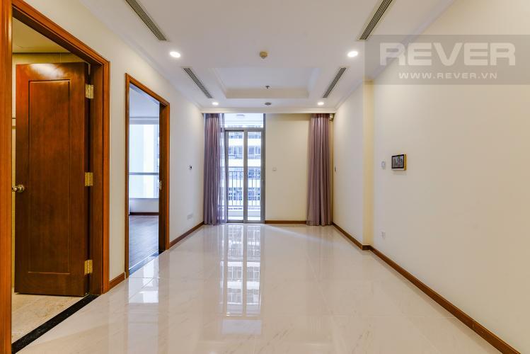 Phòng khách Căn hộ Vinhomes Central Park 1 phòng ngủ tầng cao L6 nhà trống