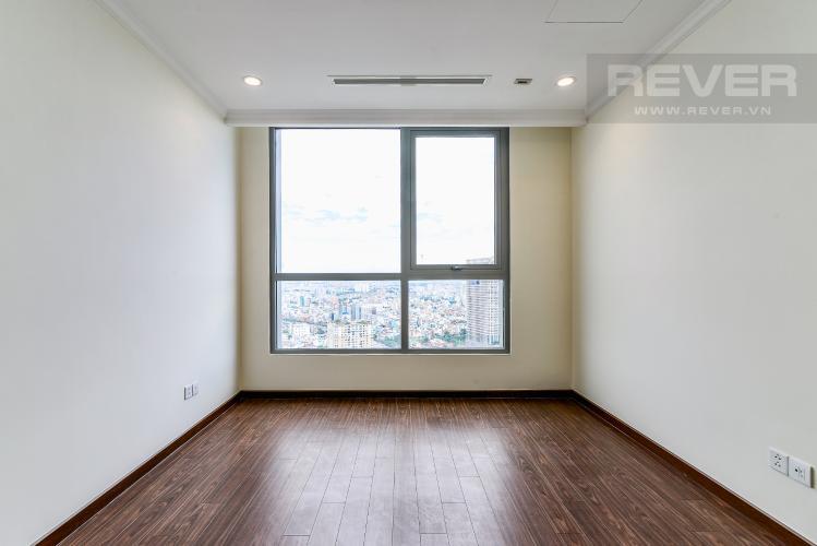 Phòng Ngủ 2 Căn hộ Vinhomes Central Park 3 phòng ngủ tầng cao L5 nội thất cơ bản