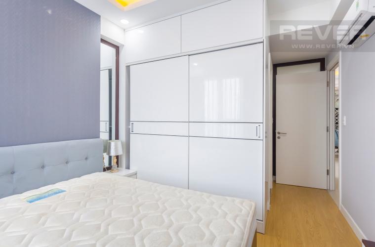 Phòng ngủ 2 Căn hộ Masteri Thảo Điền tầng cao tháp T1B view nhìn về Quận 1