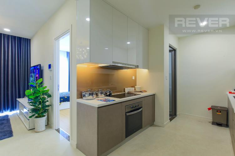 Phòng Bếp Cho thuê căn hộ Masteri Millennium tầng cao, 2PN nội thất đầy đủ, có thể dọn vào ở ngay