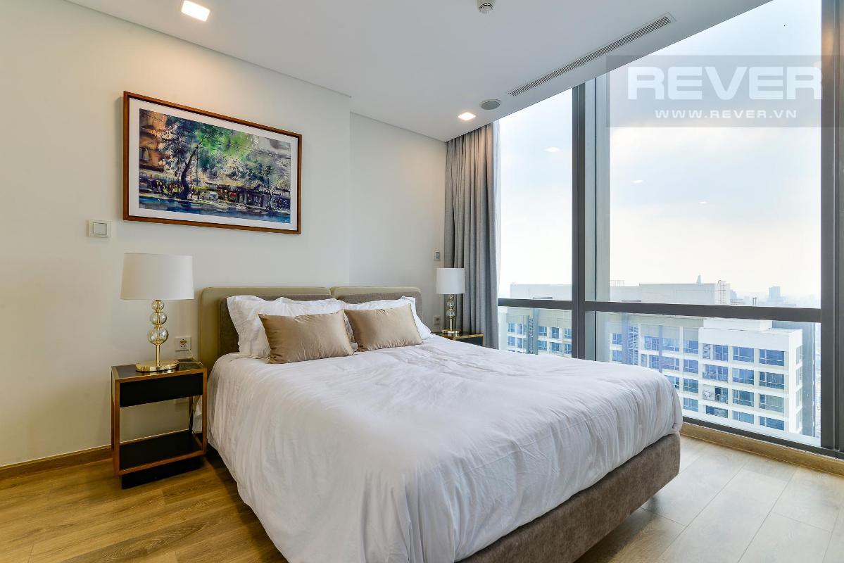 Phòng Ngủ 2.2 Bán hoặc cho thuê căn hộ Vinhomes Central Park 4PN, tháp Landmark 81, diện tích 164m2, đầy đủ nội thất, căn góc view thoáng