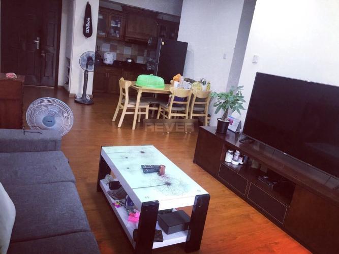 Phòng khách căn hộ chung cư Phúc Yên Căn hộ chung cư Phúc Yên bàn giao nội thất cơ bản, view thoáng mát.
