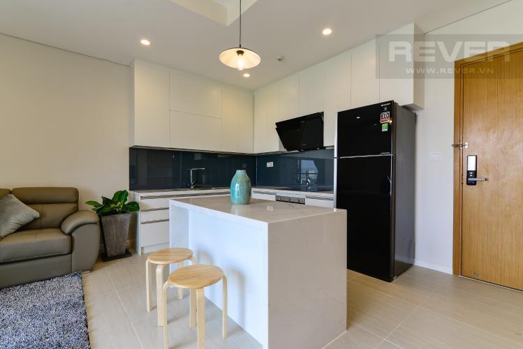 Nhà Bếp Cho thuê căn hộ Diamond Island 52,54m2 1PN 1WC, nội thất cao cấp, view sông