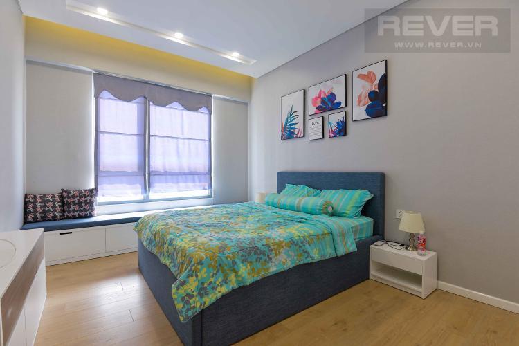 Phòng Ngủ 2 Cho thuê căn hộ Diamond Island - Đảo Kim Cương, tháp Hawaii, đầy đủ nội thất, view trực diện sông