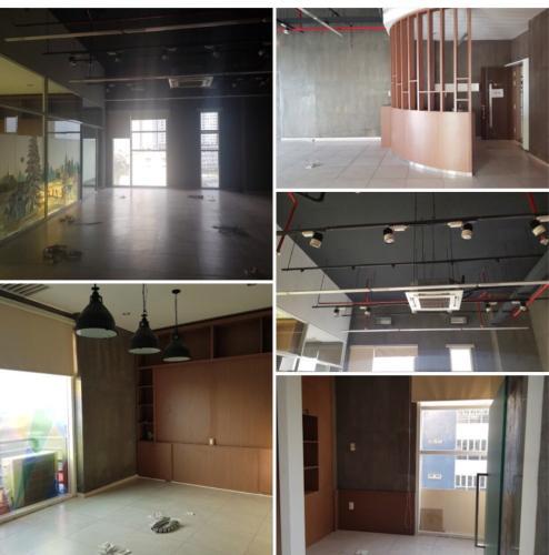 Căn hộ Office-tel Sunrise City tầng thấp, nội thất cơ bản.
