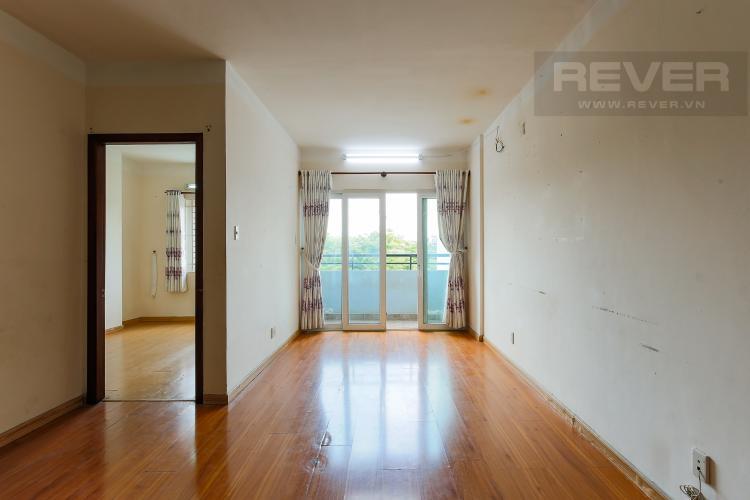 Phòng Khách Căn hộ Orient Apartment 2 phòng ngủ tầng thấp hướng Đông Bắc