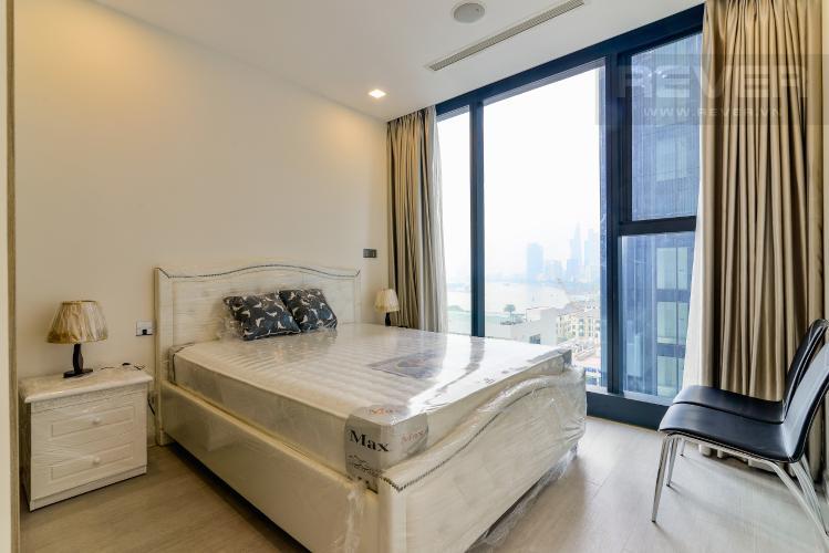 Phòng Ngủ 1 Căn hộ Vinhomes Golden River tầng trung, tháp The Aqua 3, 2PN, nội thất đầy đủ