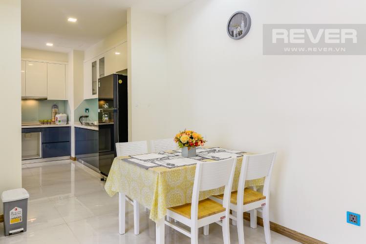 Phòng Ăn Căn hộ Vinhomes Central Park 2 phòng ngủ tầng cao P4 nội thất đầy đủ