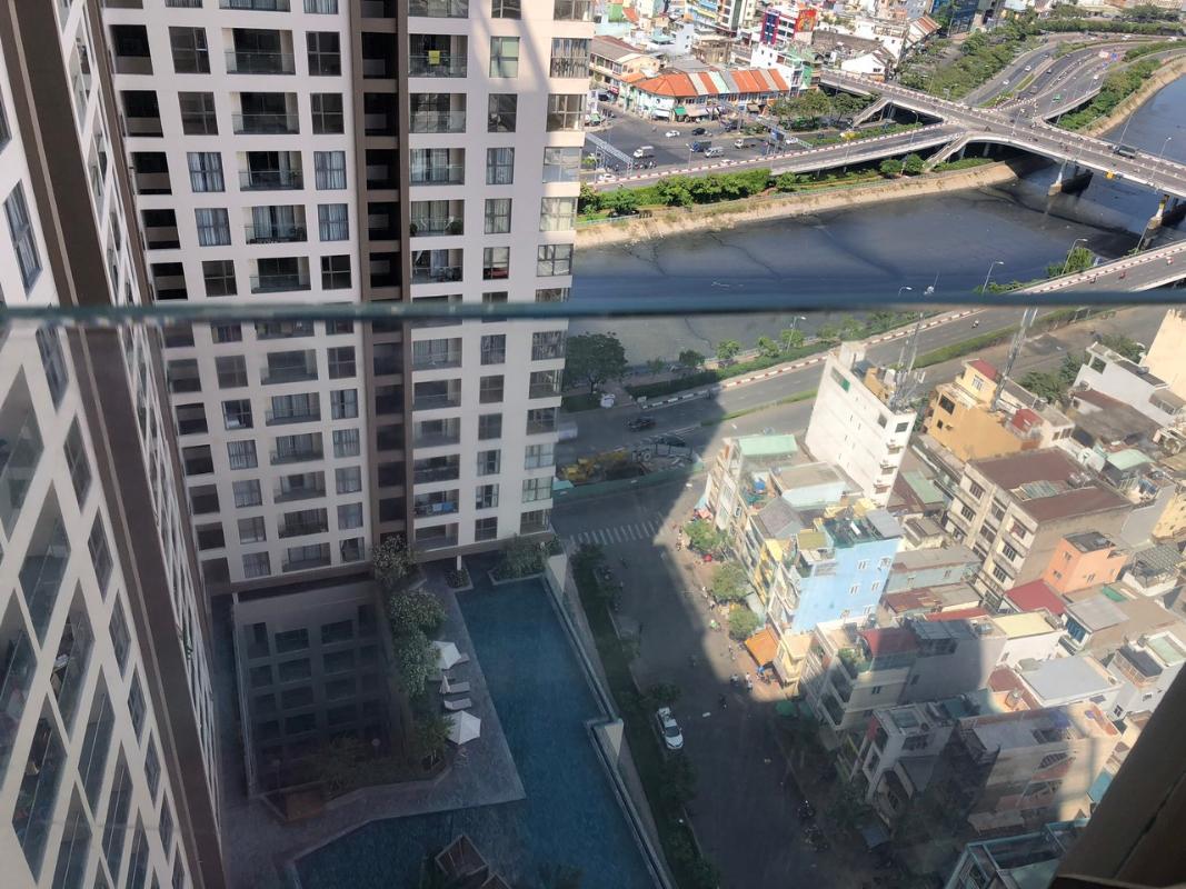 2f5b1d9d42c0a49efdd1 Bán căn hộ Masteri Millennium 2PN, block B, đầy đủ nội thất, view Bitexco