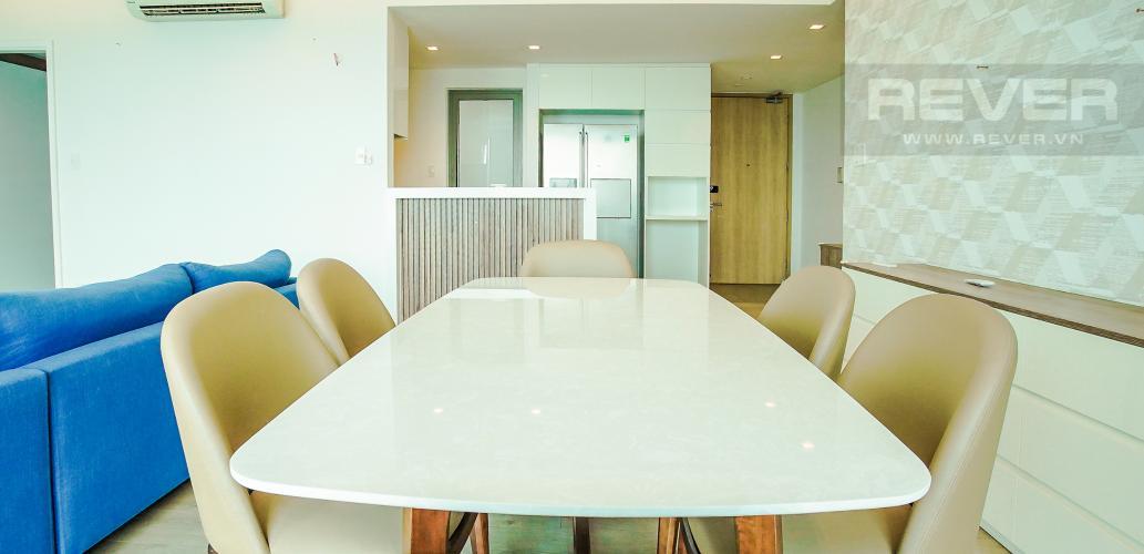 Phòng Ăn Cho thuê căn hộ Riviera Point 2PN, tầng cao, đầy đủ nội thất, view sông thoáng mát