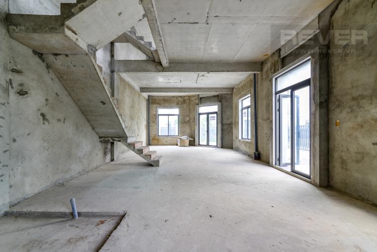 Tầng Trệt Bán nhà phố Lakeview City 3PN 3WC, nhà trống không có nội thất, view khu đô thị