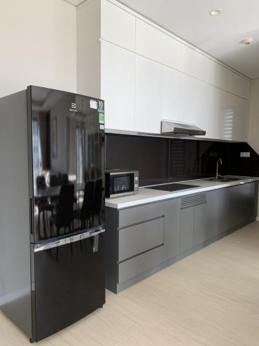 Phòng bếp Diamond Island Quận 2 Căn hộ Đảo Kim Cương đầy đủ nội thất, view thành phố.