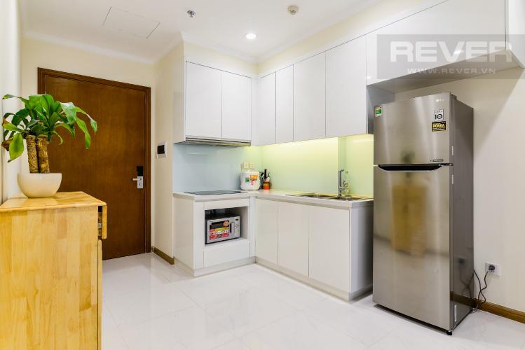 Nhà Bếp Căn hộ Vinhomes Central Park 1 phòng ngủ tầng cao L5 đầy đủ nội thất