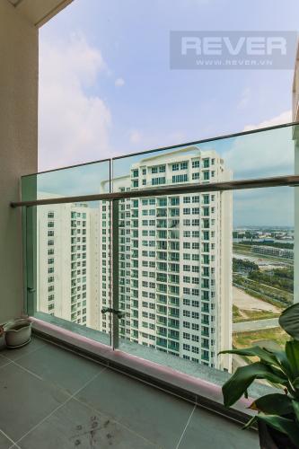 Balcony Cho thuê căn hộ Sadora Sala Đại Quang Minh 88m2, nội thất tiện nghi, view hồ bơi