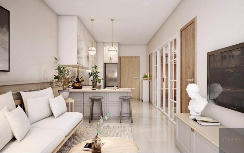 Căn hộ Hado Centrosa Garden 1 phòng ngủ, nội thất tinh tế.