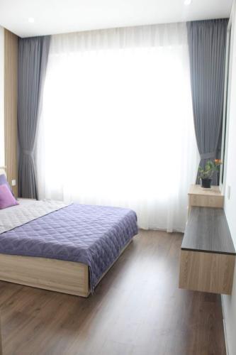 Phòng ngủ căn hộ SUNRISE CITYVIEW Căn hộ Sunrise CityView diện tích 105m2, đầy đủ nội thất, view Phú Mỹ Hưng