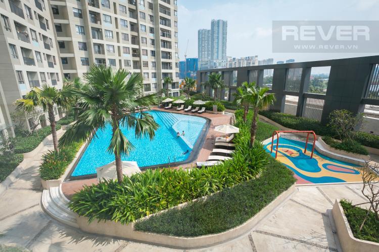 View Căn hộ Masteri Thảo Điền 2 phòng ngủ tầng thấp T5 view hồ bơi