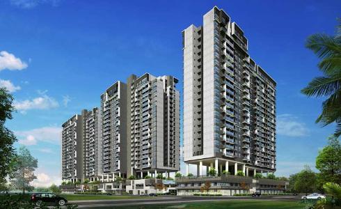 Bán căn hộ One Verandah 2PN, tầng thấp, nội thất cơ bản, hướng cửa Tây Bắc