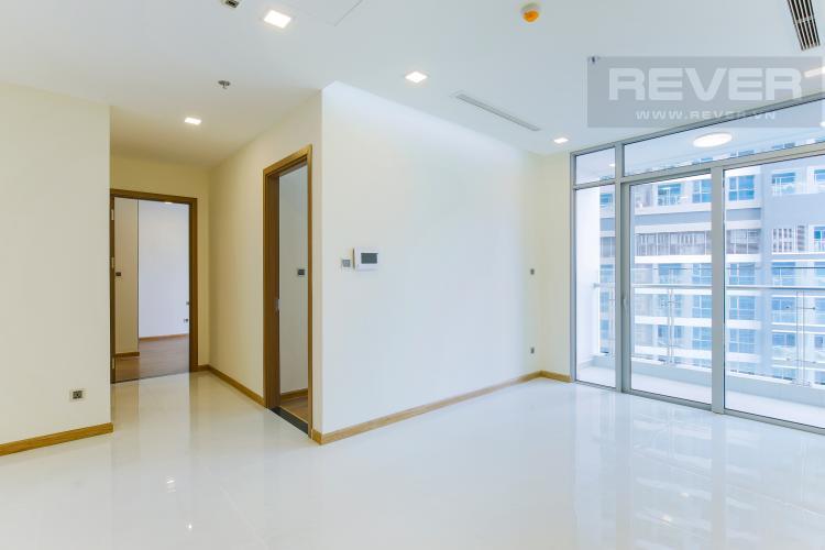 Phòng Khách Căn hộ Vinhomes Central Park tầng cao Park 2 mới bàn giao, chưa ở