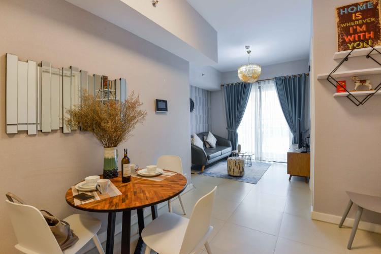 Phòng Khách Cho thuê căn hộ Gateway Thảo Điền 1PN 52m2, đầy đủ nội thất, view Landmark 81