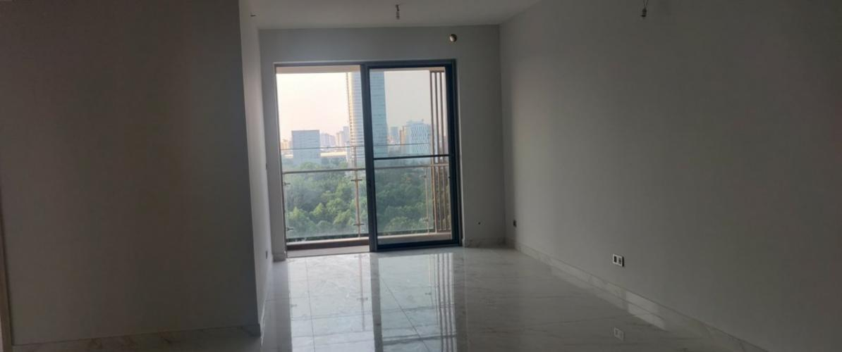 phòng khách căn hộ midtown Căn hộ Phú Mỹ Hưng Midtown nội thất cơ bản, view thành phố.