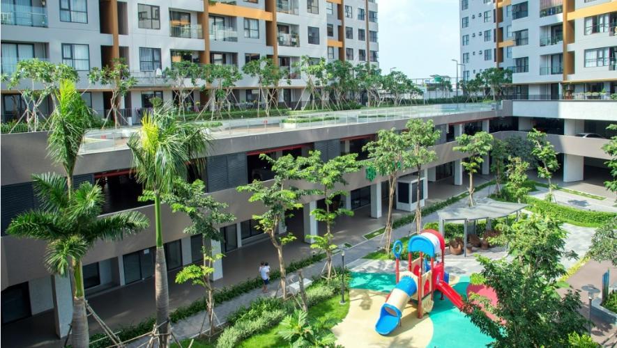 Nội khu vui chơi Mizuki Park, Bình Chánh Căn hộ Mizuki Park tầng 3, view đường đại lộ thương mại.