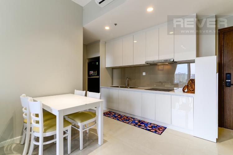 Bếp Cho thuê căn hộ Masteri An Phú 2PN, tầng thấp, tháp B, view hồ bơi và Xa lộ Hà Nội