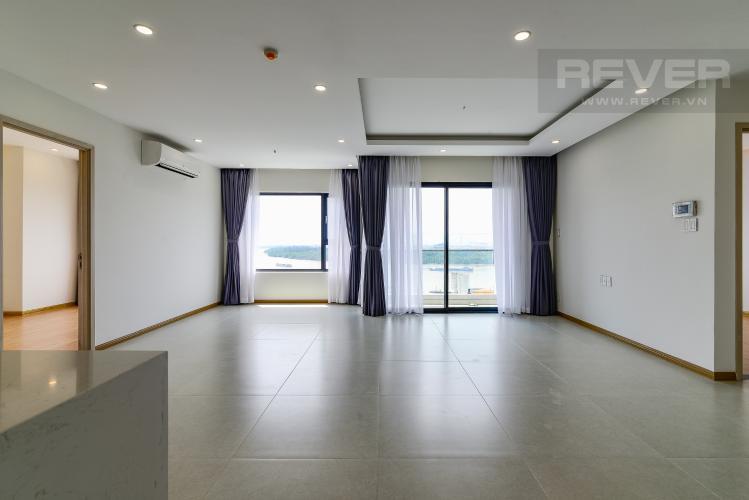 Phòng Khách Cho thuê căn hộ New City Thủ Thiêm tầng trung, tháp Bali, 3PN