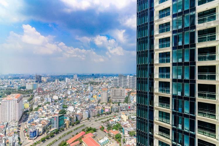 View Cho thuê căn hộ Vinhomes Golden River tầng cao, 2PN, view đẹp, đa tiện ích