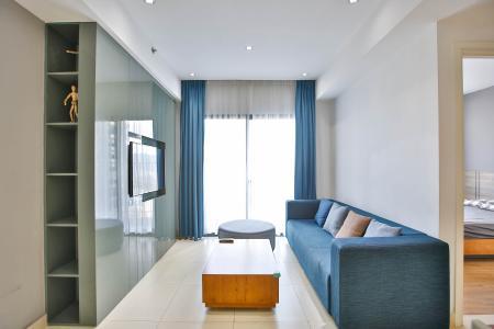 Bán căn hộ Masteri Thảo Điền tầng trung, 2PN, view hồ bơi và bao quát thành phố