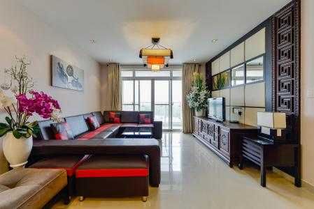 Căn hộ Riverside Residence tầng trung block E thiết kế sang trọng, ấn tượng