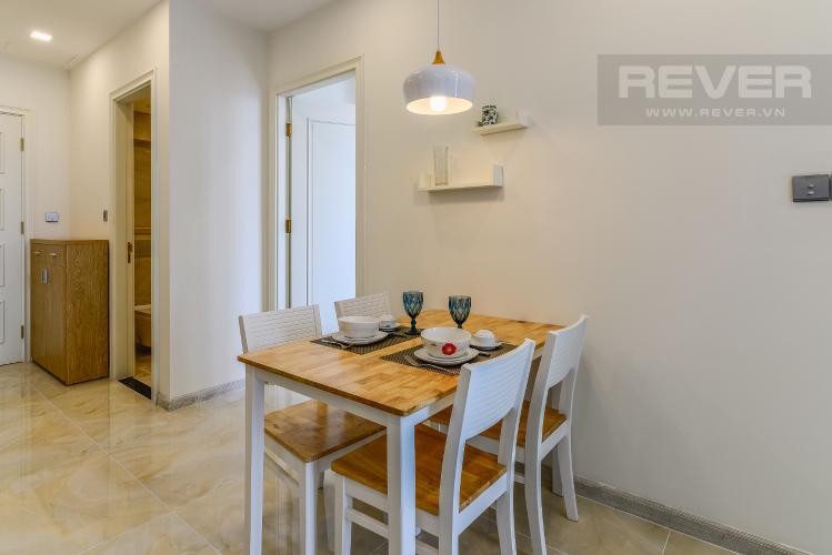 Phòng Ăn Cho thuê căn hộ Vinhomes Golden River tầng cao 1PN đầy đủ nội thất