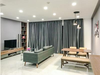 Cho thuê căn hộ Sunrise Riverside 3PN, diện tích 83m2, đầy đủ nội thất, view hồ bơi nội khu