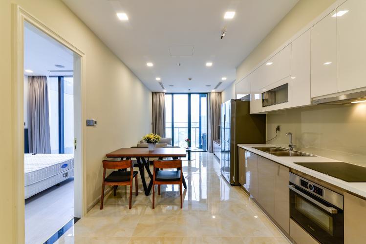 Căn hộ Vinhomes Golden River 1 phòng ngủ tầng cao A3 đầy đủ nội thất