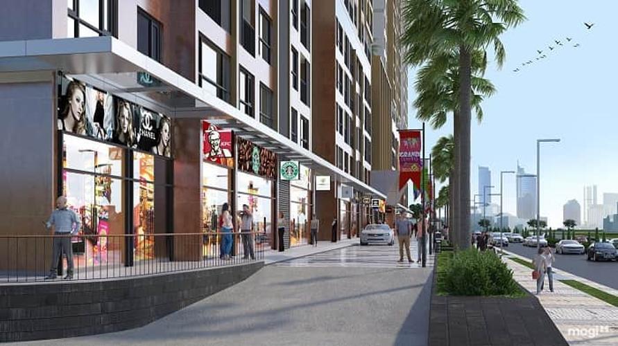 Khu mua sắp shophouse Vinhomes Grand Park Căn hộ Vinhomes Grand Park thiết kế sang trọng 3 phòng ngủ.