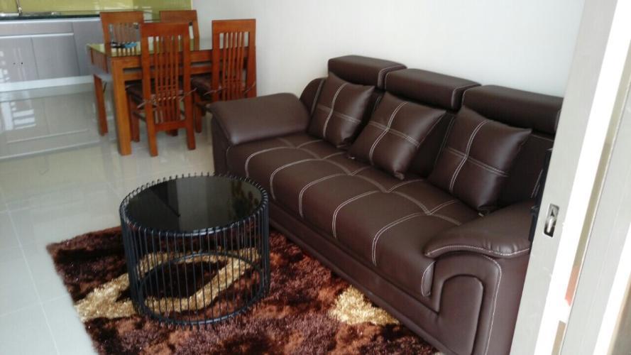 sofa phòng khách căn hộ The Sun Avenue Bán căn hộ 2 phòng ngủ The Sun Avenue đầy đủ nội thất.